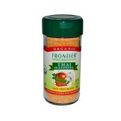 Frontier Natural Products, Organic Thai Seasoning, Salt-Free Blend, 2.33 oz (66 g)