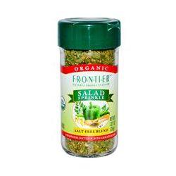 Frontier Natural Products, Organic Salad Sprinkle, Salt Free Blend, 1.23 oz (35 g)