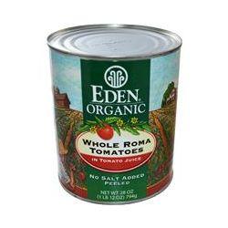 Eden Foods, Organic Whole Roma Tomatoes, 28 oz (794 g)