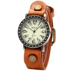 Ailisha Fashion Trendy Quarzuhr Armbanduhr Herrenuhr Damenuhr Jungen Uhr WAA431