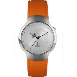 Alessi Unisex-Armbanduhr Analog leder orange AL27020