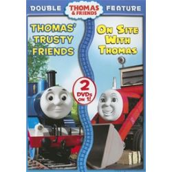 Thomas & Friends: Thomas' Trusty Friends/ On Site With Thomas (Double Feature) (DVD)