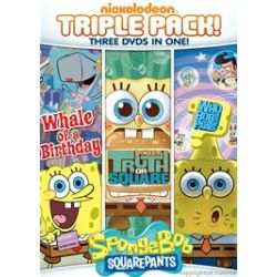 SpongeBob SquarePants: Truth Or Square / Who Bob What Pants / Whale Of A Birthday (Triple Feature) (DVD)