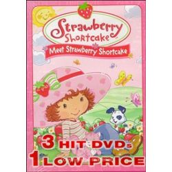 Strawberry Shortcake: Meet Strawberry Shortcake/Spring For Strawberry Shortcake/Strawberry Shortcake Get Well Adventure (DVD 2003)