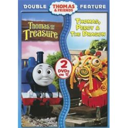 Thomas & Friends: Thomas And The Treasure/ Thomas, Percy And The Draon (Double Feature) (DVD)