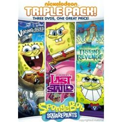 SpongeBob SquarePants: Last Stand / Triton's Revenge / Viking Sized Adventures (Triple Feature) (DVD)