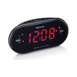 """Westclox 81012BT Bluetooth 1.2"""" LED Dual Alarm 81012BT B&H"""