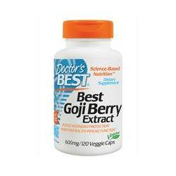 Doctor's Best, Best Goji Berry Extract, 600 mg, 120 Veggie Caps