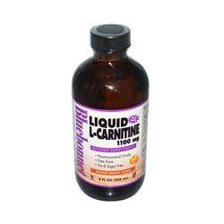 Bluebonnet Nutrition, Liquid L-Carnitine, Natural Orange Flavor, 1100 mg, 8 fl oz (225 ml)