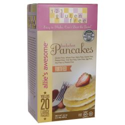 123 Gluten Free Allie's Awesome Buckwheat Pancakes 24 oz Box