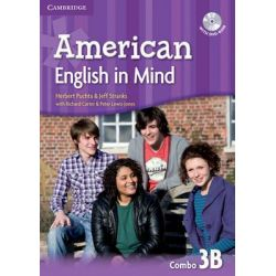 American English in Mind Level 3 Combo B with DVD-ROM by Herbert Puchta, 9780521733564.