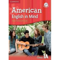 American English in Mind Level 1 Combo A with DVD-ROM by Herbert Puchta, 9780521733342.