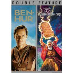 Ben Hur / Ten Commandments (Double Feature) (DVD)