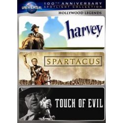 Hollywood Legends Spotlight Collection (Harvey / Spartacus / Touch of Evil) (DVD)