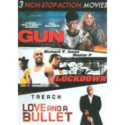 Gun / Love And A Bullet / Lockdown (Non-Stop Action Triple Feature) (DVD)