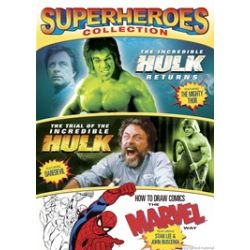 Incredible Hulk Returns, The / Trial Of The Incredible Hulk / How To Draw Comics (Superheroes Collection) (DVD)