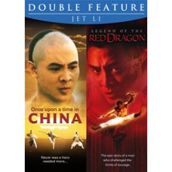 Once Upon A Time In China / Legend Of The Red Dragon (Jet Li Double Feature) (DVD)