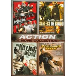 Operation: Endgame / Streets Of Blood / Columbus Day / The Killing Machine (4 Film Action Collection) (DVD)