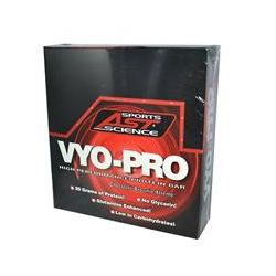 AST Sports Science, Vyo-Pro, Chocolate Brownie Xtreme, 12 Bars (62 g) Each