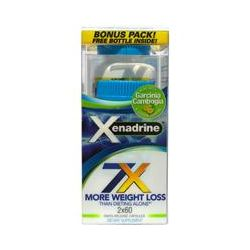 Xenadrine, Weight Loss, 2 Bottles, 60 Capsules Each