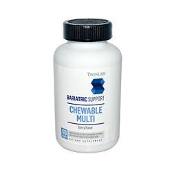 Twinlab, Bariatric Support, Chewable Multi, Berry Flavor, 60 Tablets
