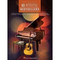 40 Acoustic Bestsellers, 40 Sheet Music Bestsellers by Hal Leonard Publishing Corporation, 9781480350953.