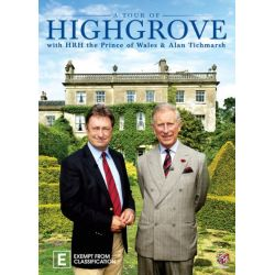 A Tour of Highgrove with HRH Prince of Wales and Alan Titchmarsh on DVD.