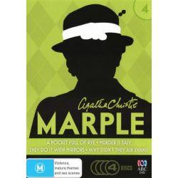 Agatha Christie's Marple on DVD.