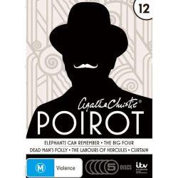 Agatha Christie's Poirot on DVD.