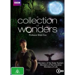 A Collection of Wonders (Wonders of the Solar System / Wonders of the Universe / Wonders of Life) on DVD.