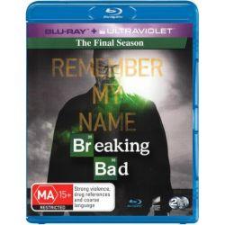 Breaking Bad on DVD.