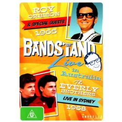 Bandstand Live in Australia (1965 Roy Orbison and Special Guests / 1968 The Everly Brothers on DVD.