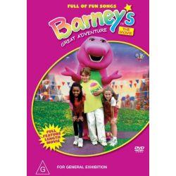 Barney's Great Adventure on DVD.