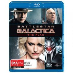 Battlestar Galactica (2004) on DVD.