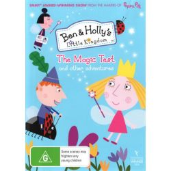 Ben and Holly's Little Kingdom on DVD.
