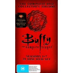 Buffy the Vampire Slayer on DVD.