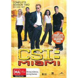 CSI on DVD.