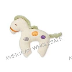 Greenpoint Brands, My Natural, Canvas Knit Teether, Green Horse