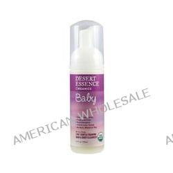 Desert Essence, Organics, Baby, 2 in 1 Gentle Foaming Hair & Body Cleanser, Fragrance Free, 5.7 fl oz (170 ml)
