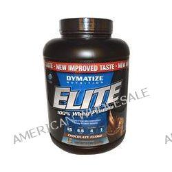 Dymatize Nutrition, Elite, 100% Whey Protein, Chocolate Fudge, 5 lbs (2,270 g)
