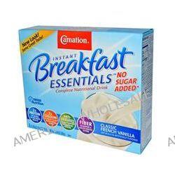 Carnation Breakfast Essentials, No Sugar Added, Classic French Vanilla, 8 Packets, 0.705 oz (20 g) Each