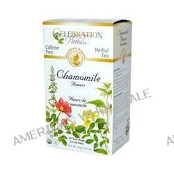 Celebration Herbals, Organic, Herbal Tea, Chamomile Flowers, Caffeine Free, 24 Tea Bags, 0.91 oz (26 g)