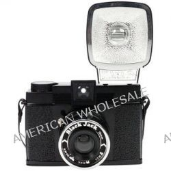 Lomography Diana F+ Medium Format Camera (Black Jack) HP700BJ