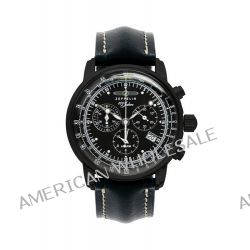 Zeppelin Watches Herren-Armbanduhr XL Analog Quarz Leder 7678-2