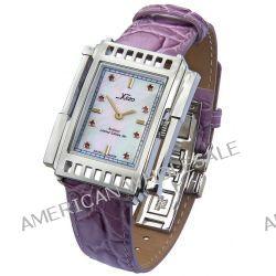 Xezo Unisex Architect Schweizer Uhr im Tank-Stil. Keine zwei Uhren sind identisch. Vintage-Stil. Naturperlmutt, mit öst Biżuteria i Zegarki