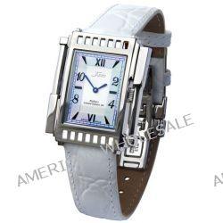 Xezo Unisex Architect Schweizer Uhr im Tank-Stil. Keine zwei Uhren sind identisch. Vintage-Stil. Naturperlmutt. Wasserfe Biżuteria i Zegarki