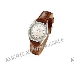 Xtime Unisex-Armbanduhr Montre dame cuir brun, cadran argenté Analog Quarz Braun XTD001-503 Biżuteria i Zegarki