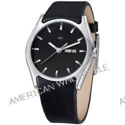 Xen Herren-Armbanduhr XL Analog Quarz Leder XQ0238 Biżuteria i Zegarki