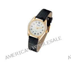 Xtime Unisex-Armbanduhr Montre dame cuir noir, boitier doré Analog Quarz Schwarz XTD001-502 Biżuteria i Zegarki