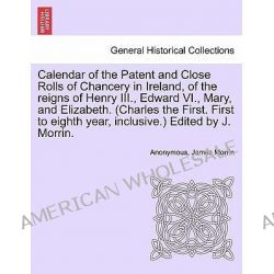 Calendar of the Patent and Close Rolls of Chancery in Ireland, of the Reigns of Henry III., Edward VI., Mary, and Elizab